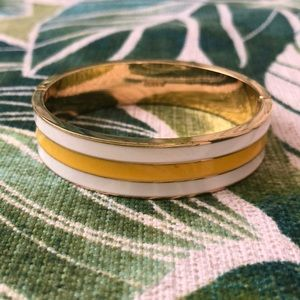 J.Crew enamel bangle bracelet